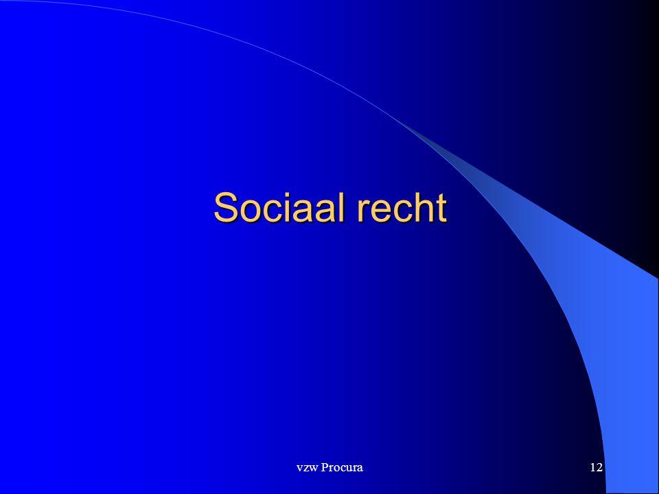Sociaal recht vzw Procura