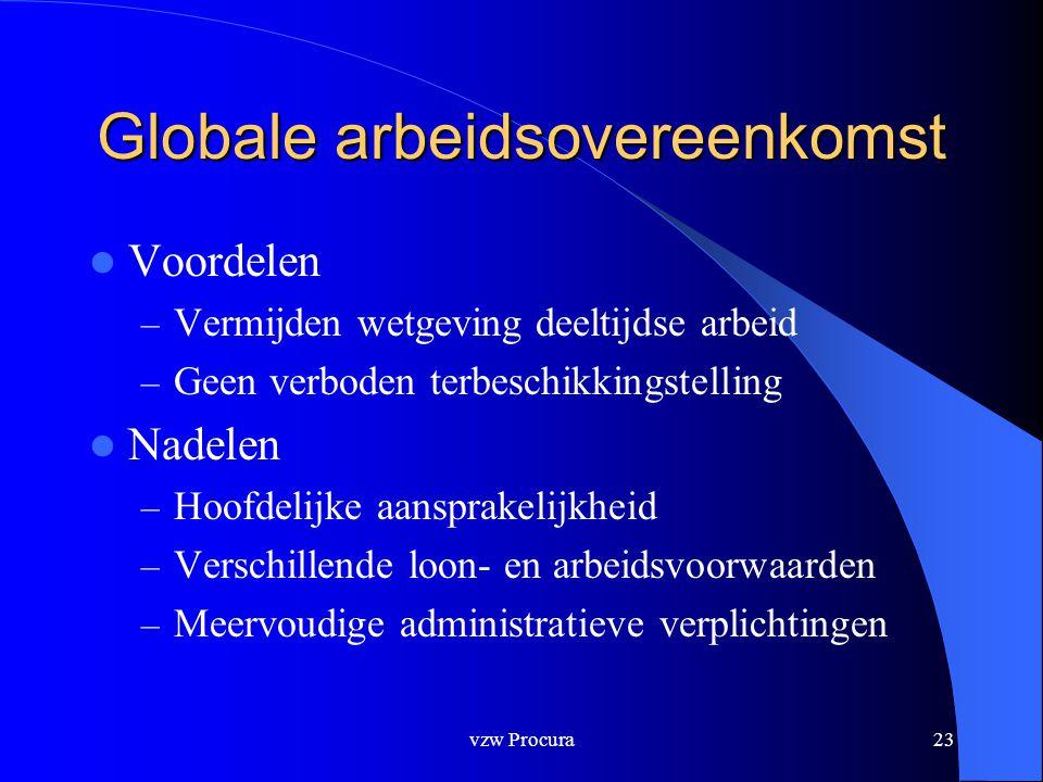 Globale arbeidsovereenkomst