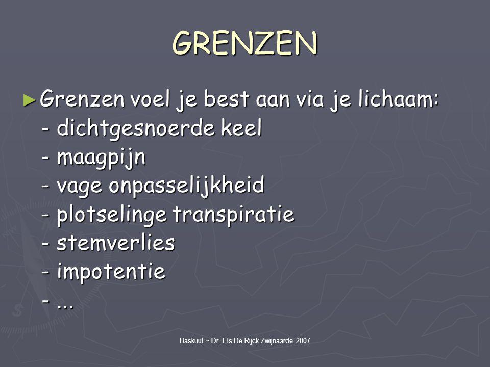 Baskuul ~ Dr. Els De Rijck Zwijnaarde 2007