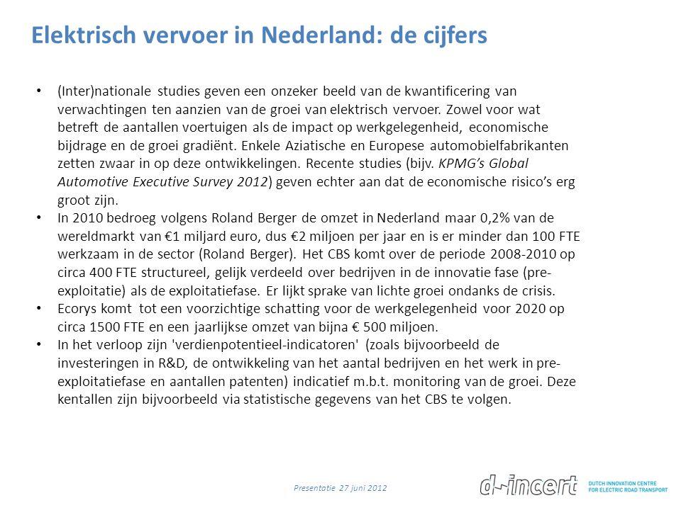 Elektrisch vervoer in Nederland: de cijfers