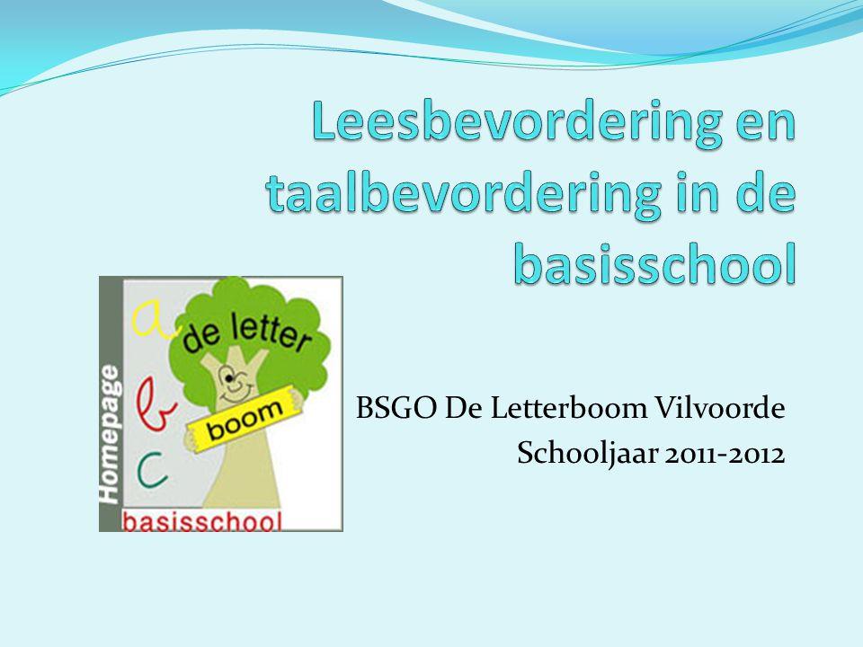 Leesbevordering en taalbevordering in de basisschool
