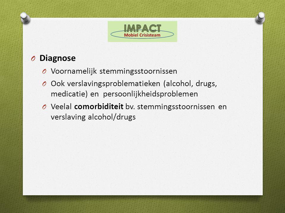 Diagnose Voornamelijk stemmingsstoornissen