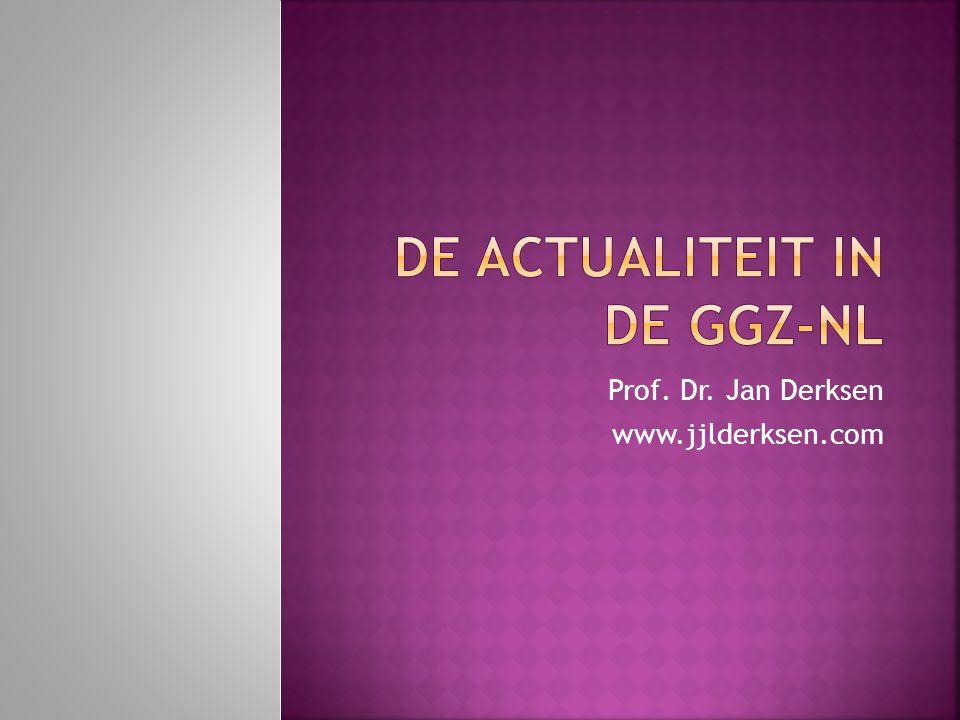 De actualiteit in de GGZ-NL