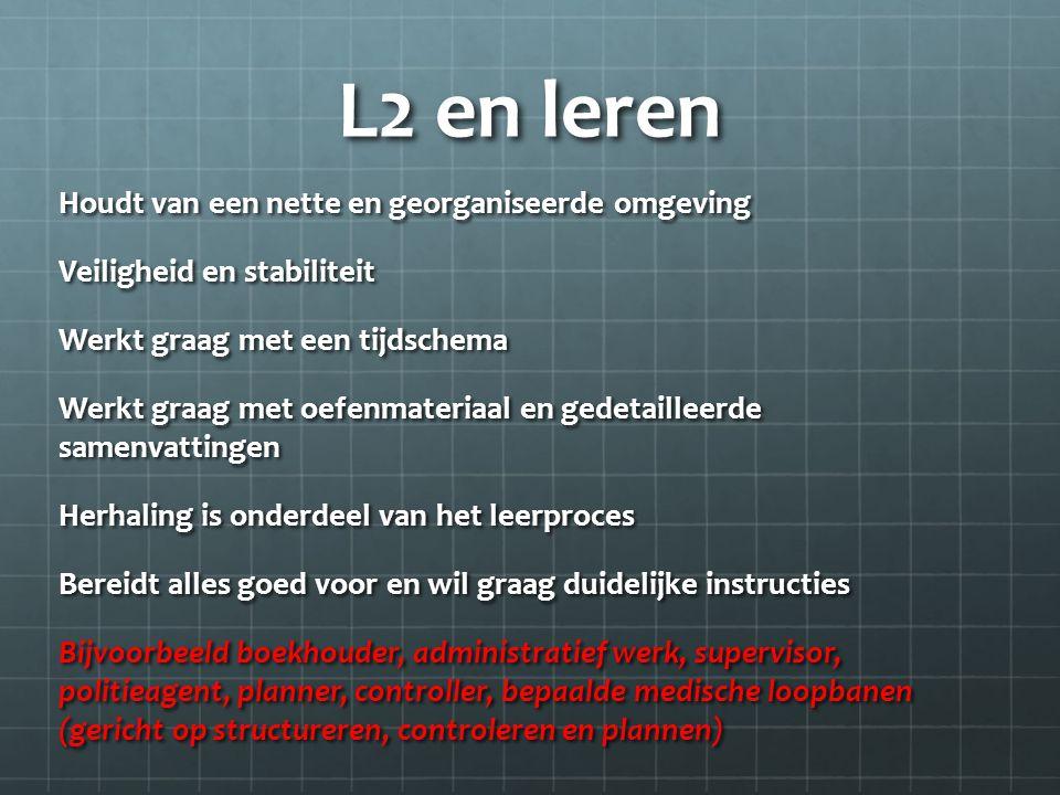 L2 en leren