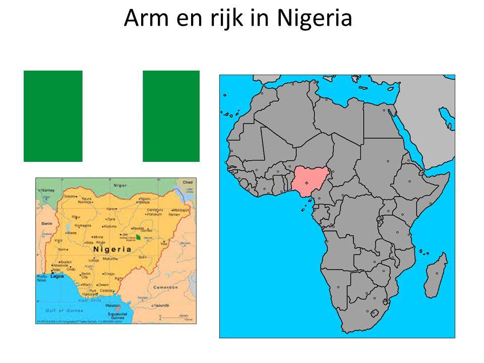 Arm en rijk in Nigeria
