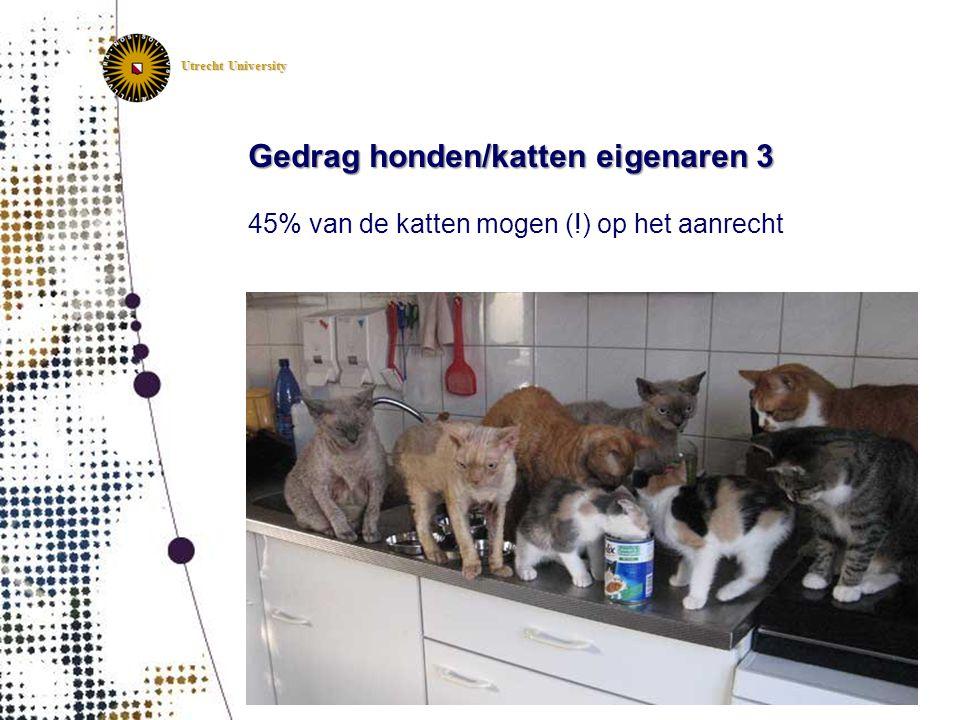 Gedrag honden/katten eigenaren 3