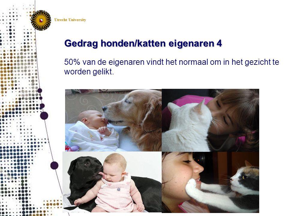 Gedrag honden/katten eigenaren 4