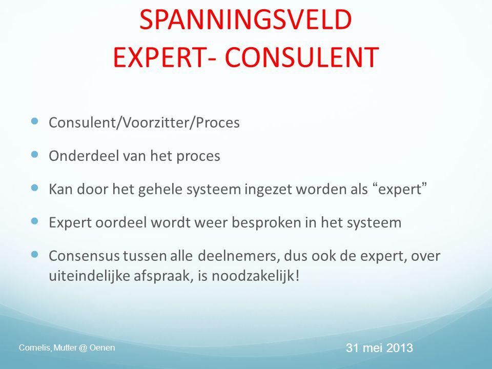 SPANNINGSVELD EXPERT- CONSULENT