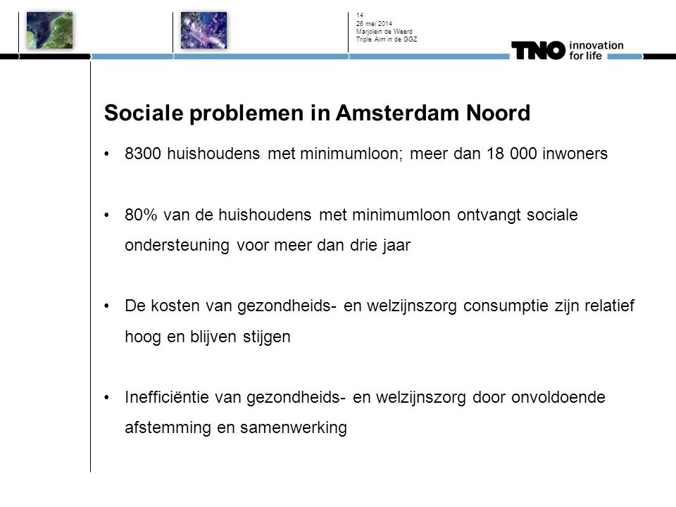 Sociale problemen in Amsterdam Noord