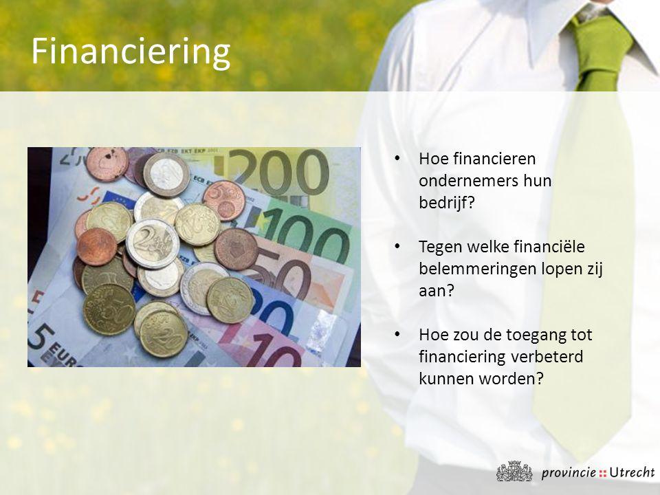 Financiering Hoe financieren ondernemers hun bedrijf