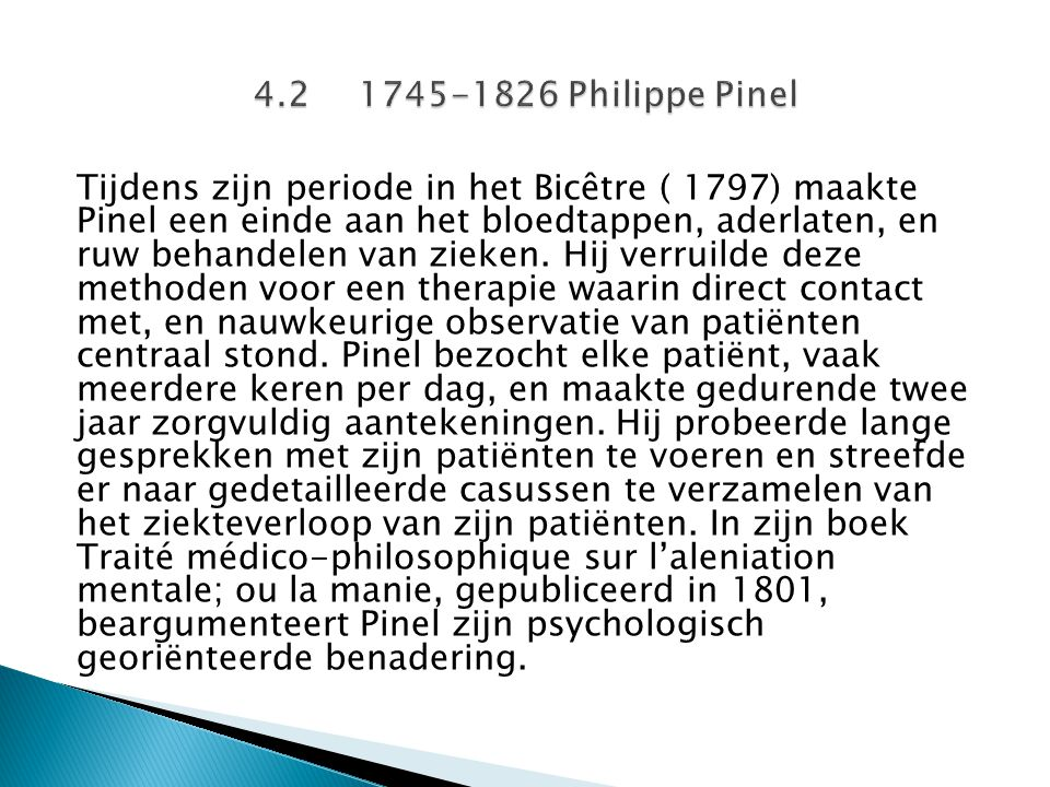 4.2 1745-1826 Philippe Pinel