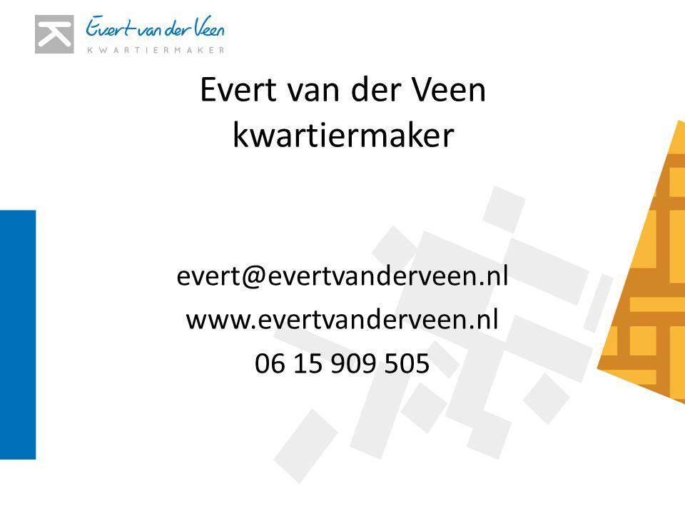 Evert van der Veen kwartiermaker