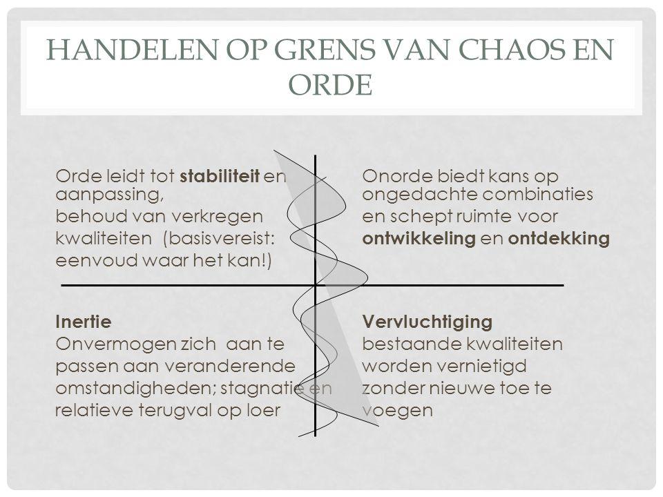 Citaten Orde En Chaos : In samenhang moet je niet blijven hangen ppt download