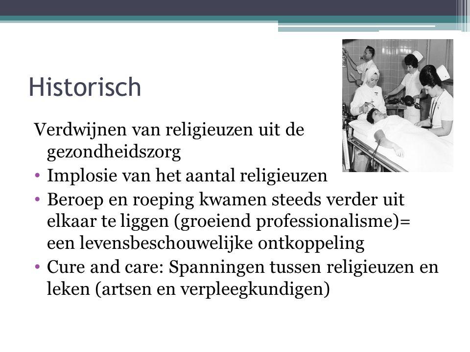 Historisch Verdwijnen van religieuzen uit de gezondheidszorg