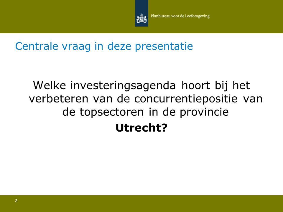 Centrale vraag in deze presentatie
