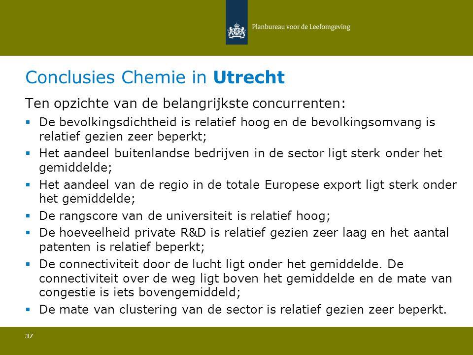 Conclusies Chemie in Utrecht