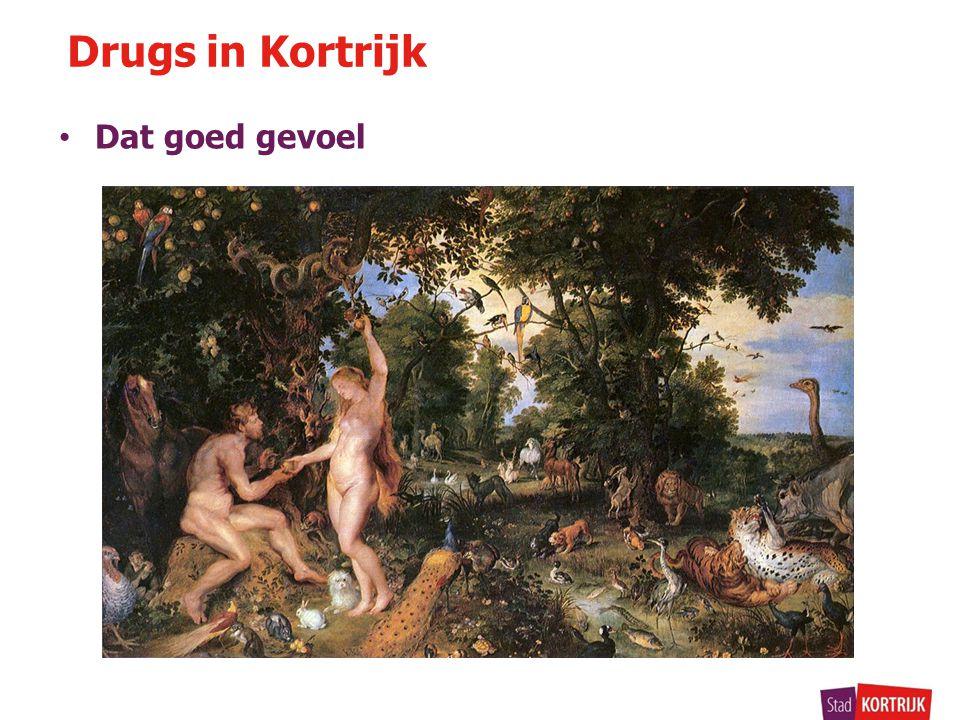 Drugs in Kortrijk Dat goed gevoel