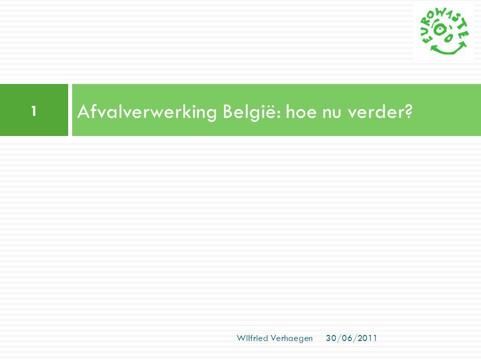 Afvalverwerking België: hoe nu verder