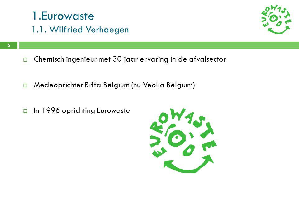 1.Eurowaste 1.1. Wilfried Verhaegen