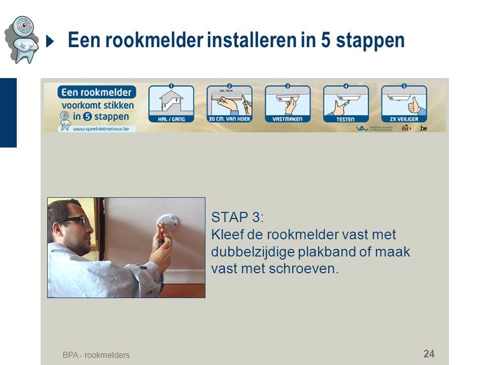 Een rookmelder installeren in 5 stappen