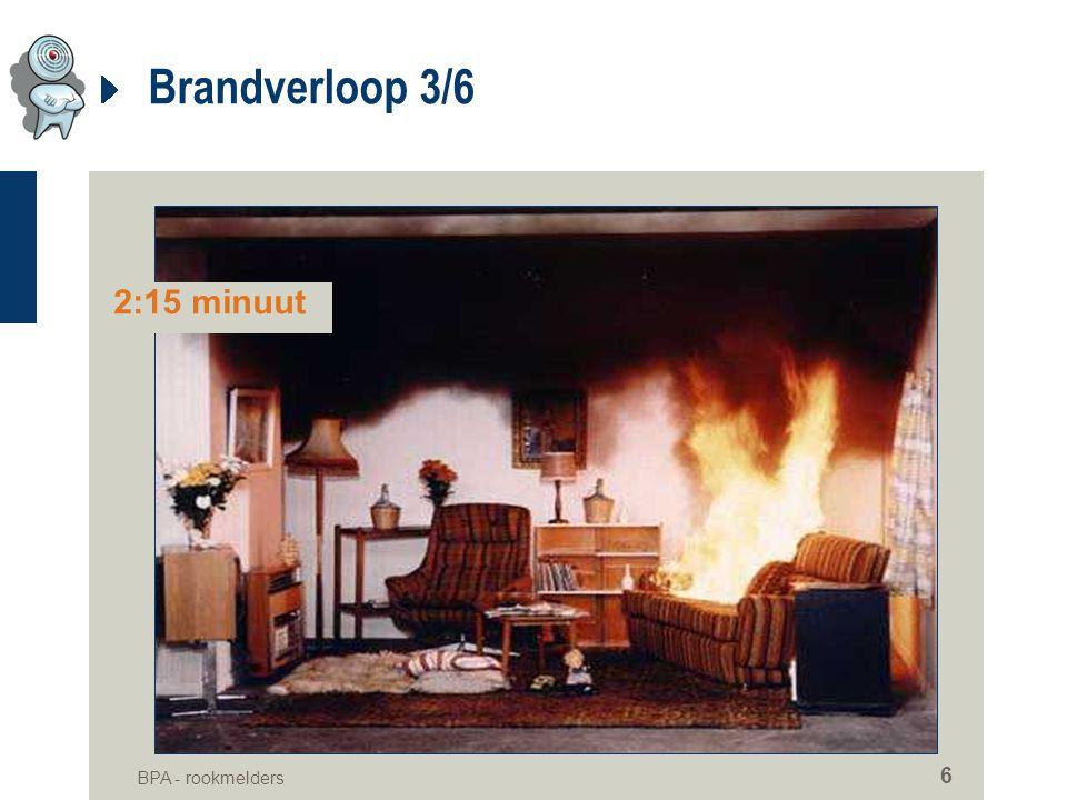 Brandverloop 3/6 2:15 minuut BPA - rookmelders