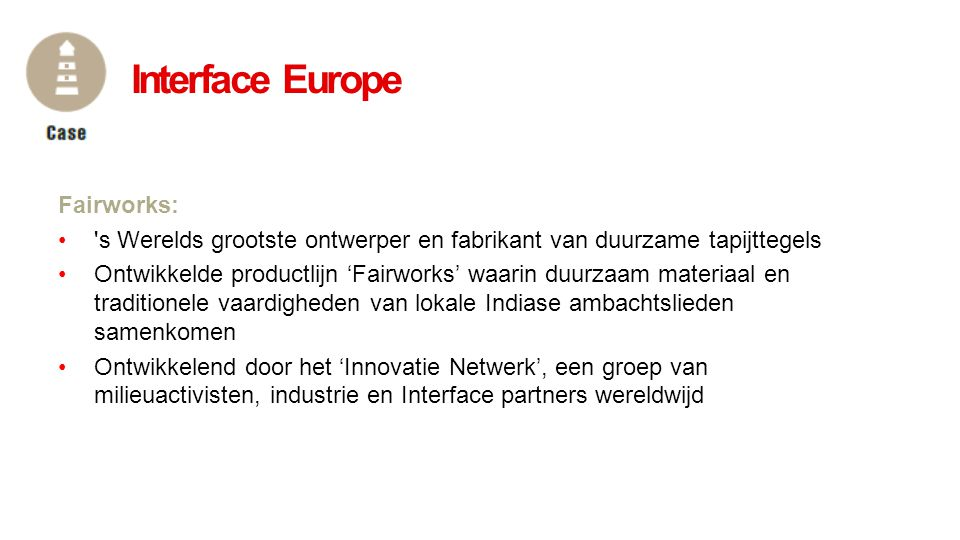 Interface Europe Fairworks: