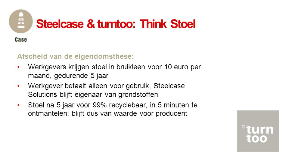 Steelcase & turntoo: Think Stoel