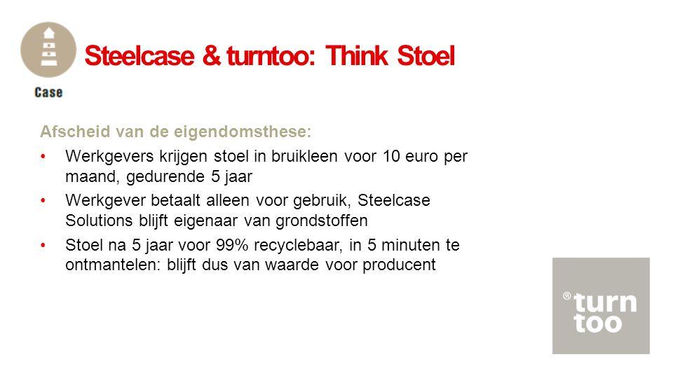Steelcase & turntoo: Think Stoel