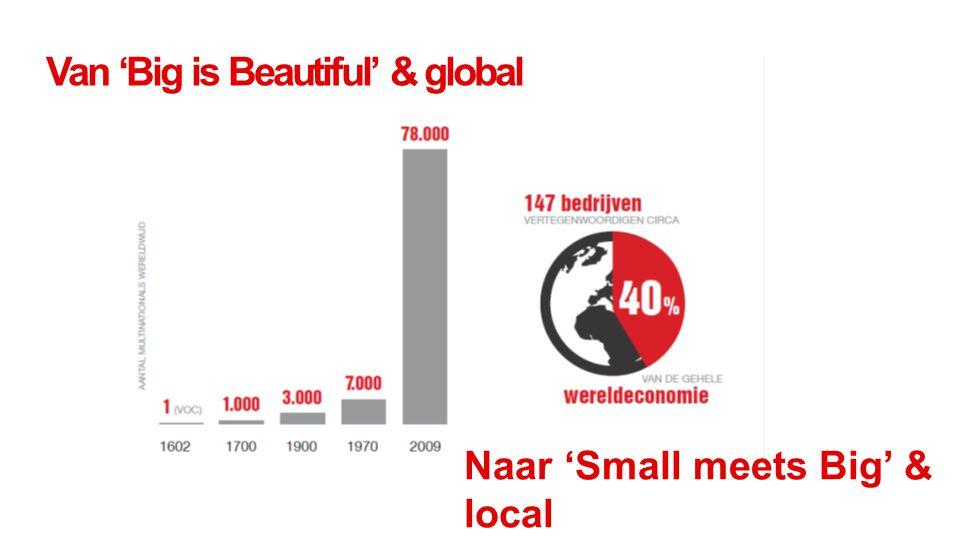 Van 'Big is Beautiful' & global