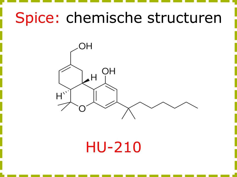 Spice: chemische structuren