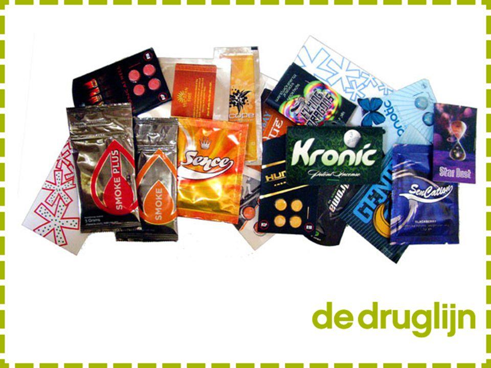 Wat is nieuw: veel bestaat al en kent toepassing / wordt ontdekt als roesmiddel (ref medicinaal gebruik coke, opiaten, …)