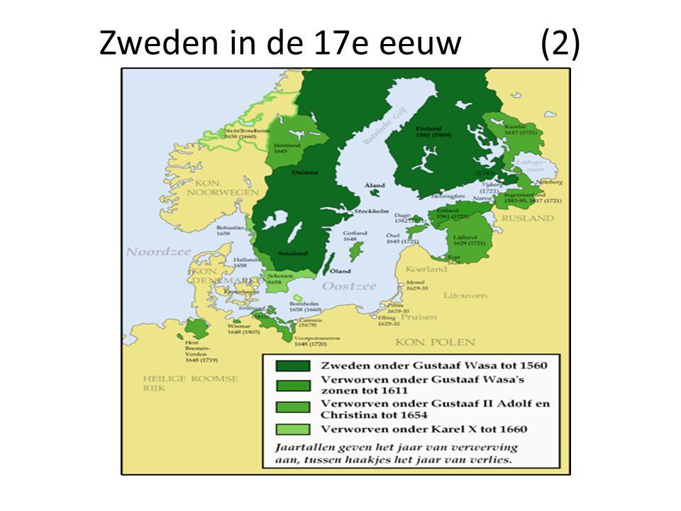 Zweden in de 17e eeuw (2)