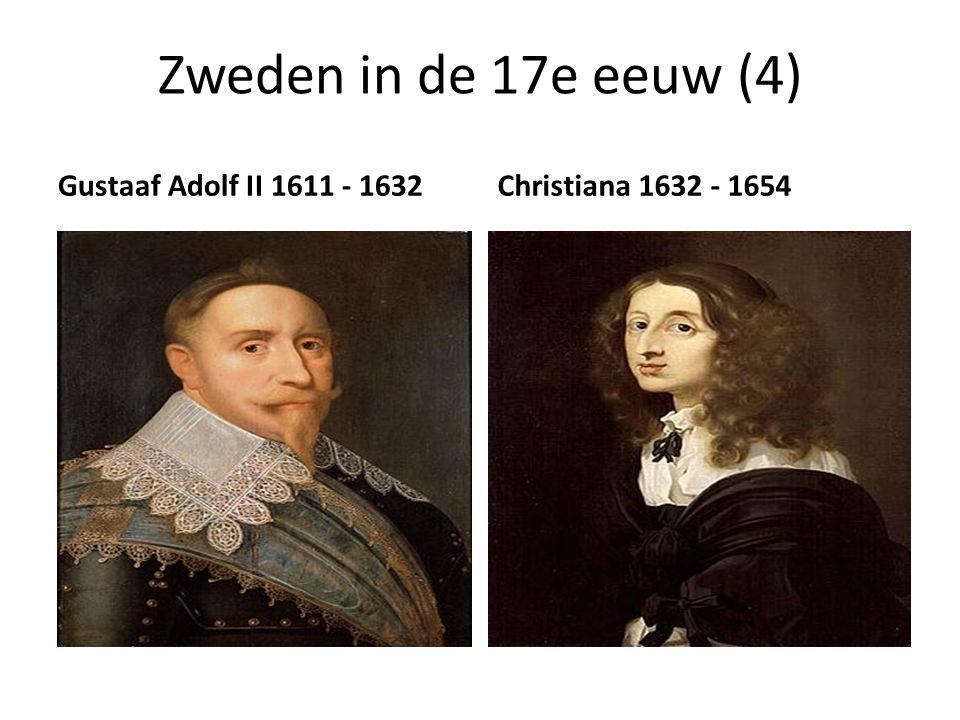 Zweden in de 17e eeuw (4) Gustaaf Adolf II 1611 - 1632