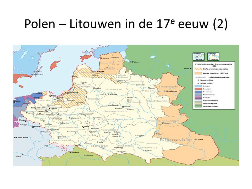 Polen – Litouwen in de 17e eeuw (2)