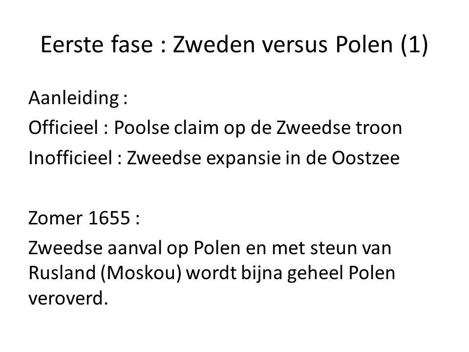 Eerste fase : Zweden versus Polen (1)