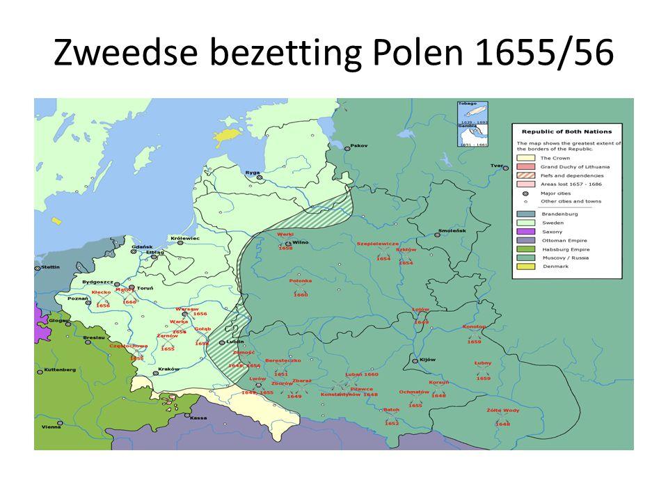Zweedse bezetting Polen 1655/56