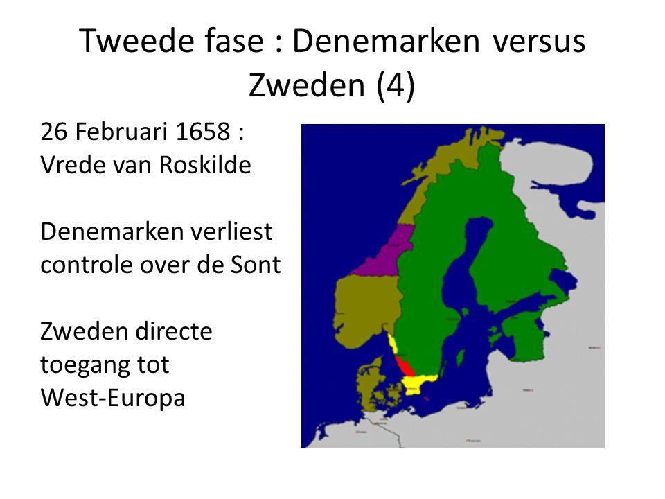 Tweede fase : Denemarken versus Zweden (4)
