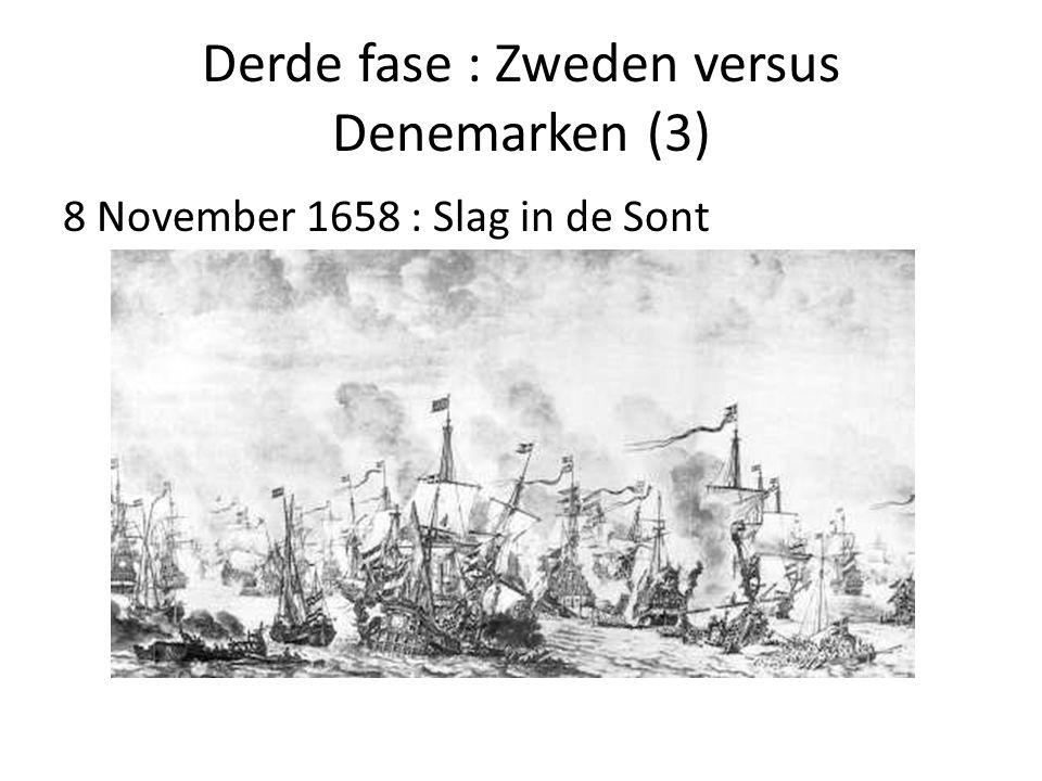 Derde fase : Zweden versus Denemarken (3)