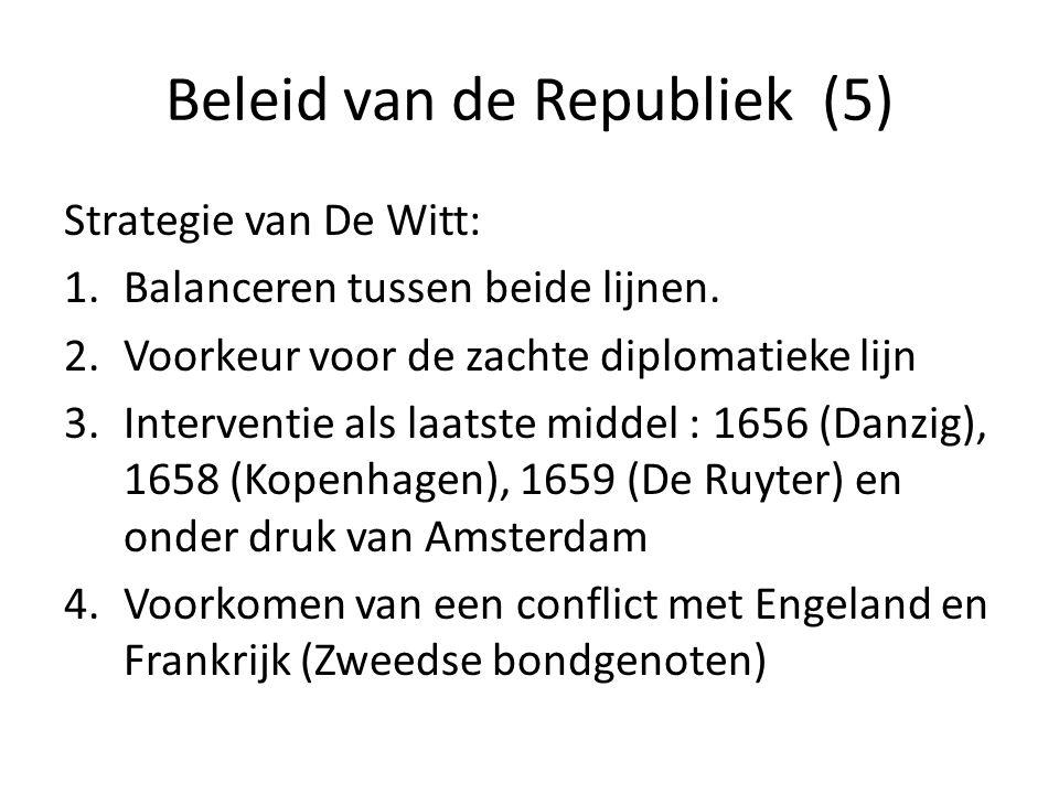 Beleid van de Republiek (5)