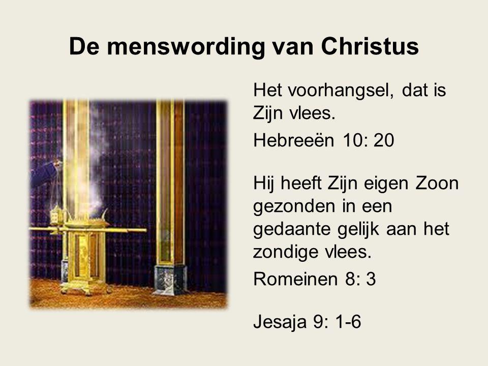 De menswording van Christus