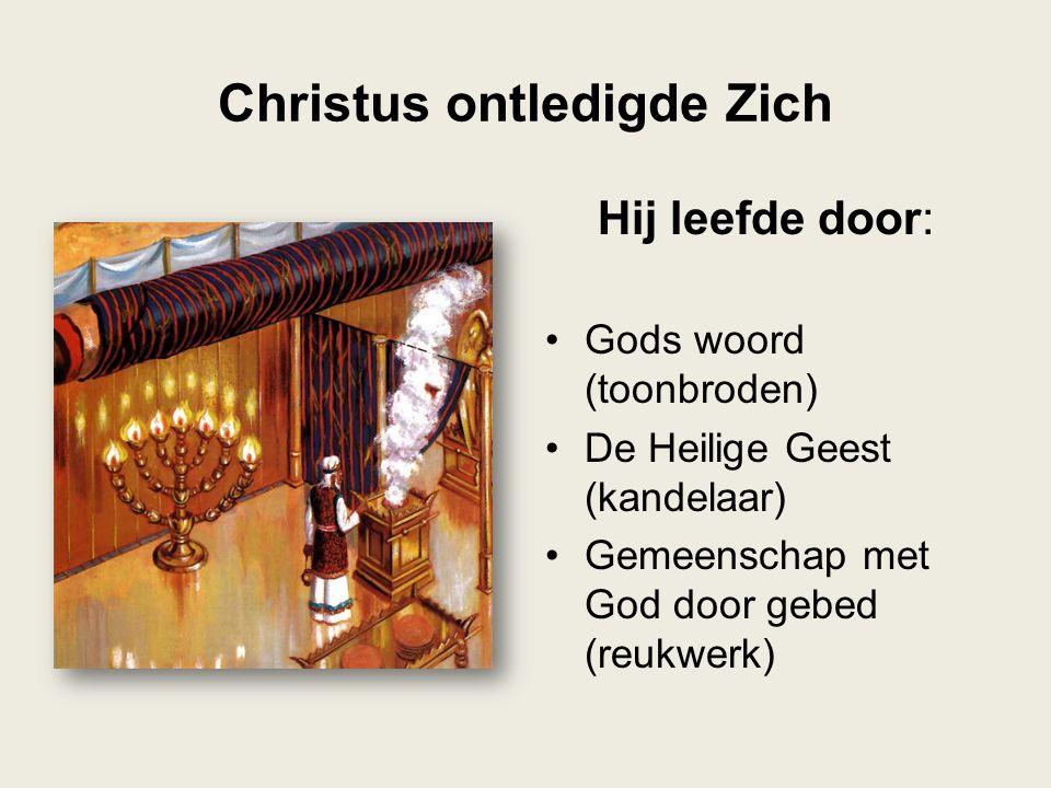 Christus ontledigde Zich