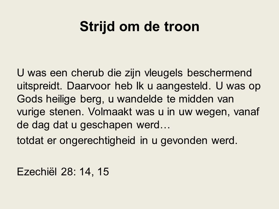 Strijd om de troon