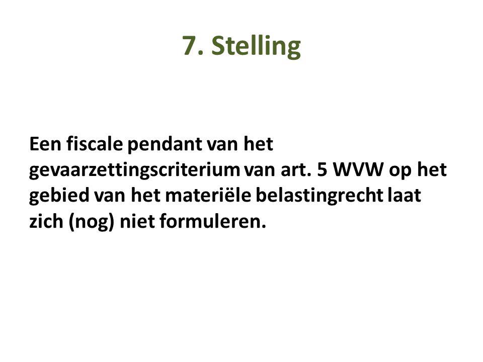 7. Stelling