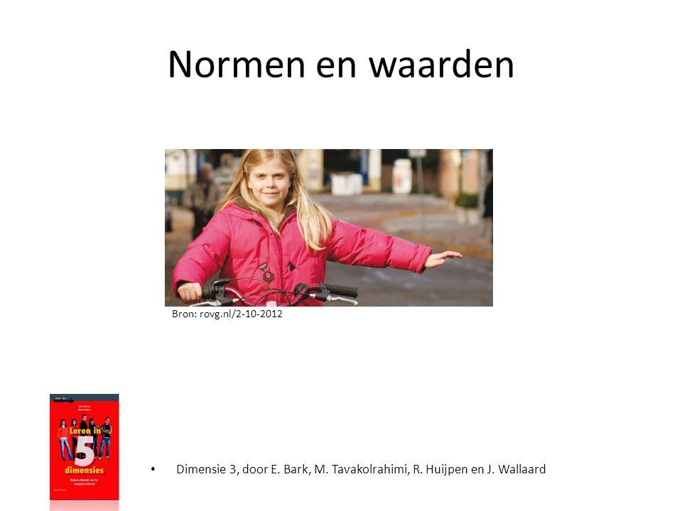 Normen en waarden Bron: rovg.nl/2-10-2012. Norm= regel, omgangsvorm, maatschappelijke gebruiken die je normaal vind.