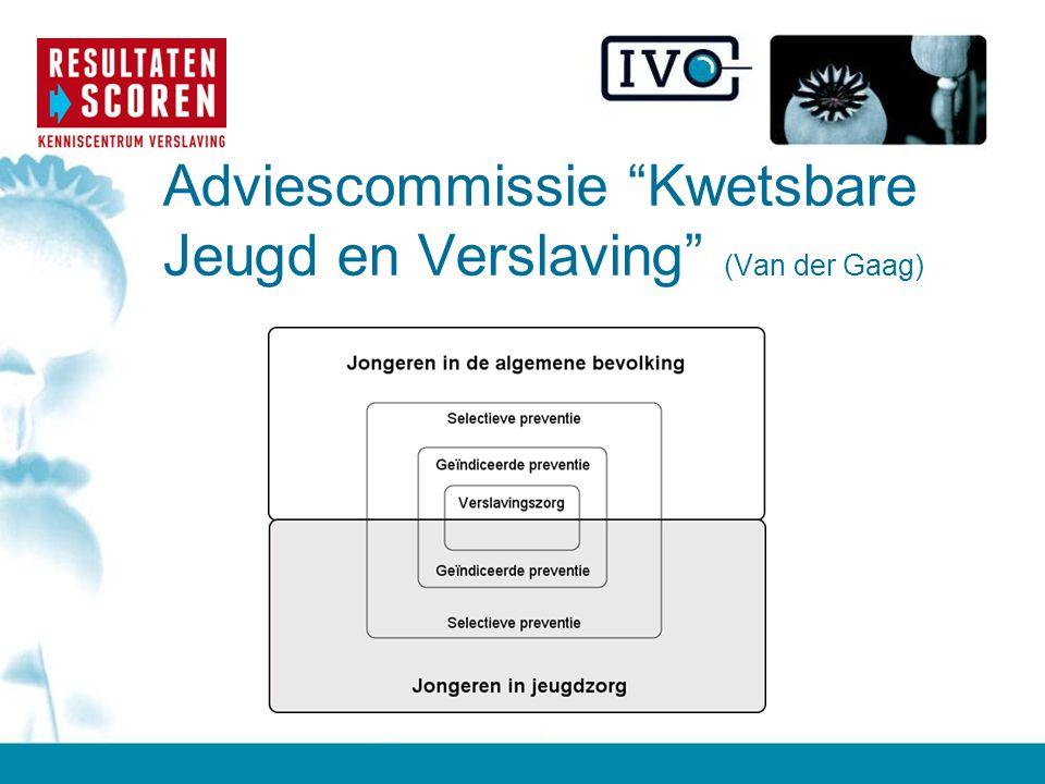 Adviescommissie Kwetsbare Jeugd en Verslaving (Van der Gaag)