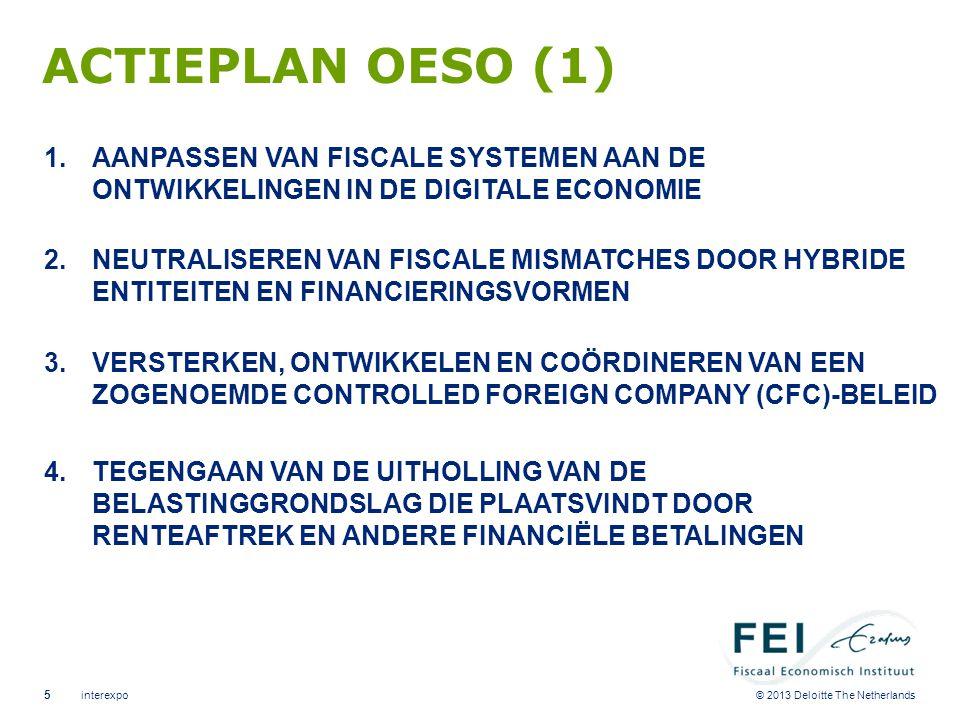 ACTIEPLAN OESO (2) 5. VERBIEDEN VAN SCHADELIJKE BELASTINGSTELSELS VAN LANDEN. 6. VOORKOMEN VAN MISBRUIK VAN BELASTINGVERDRAGEN.