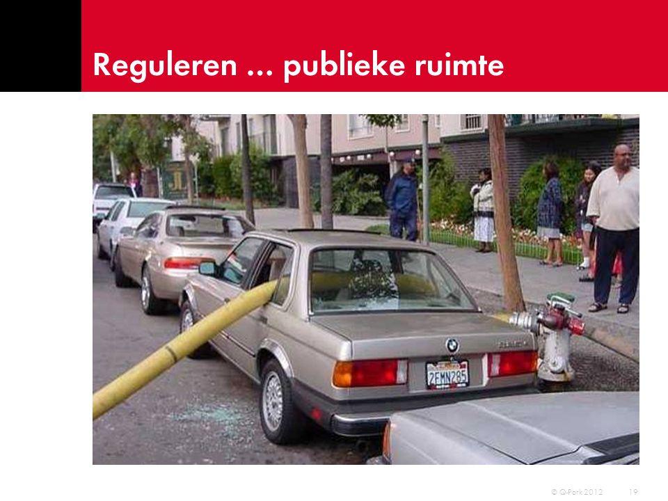 Reguleren … publieke ruimte