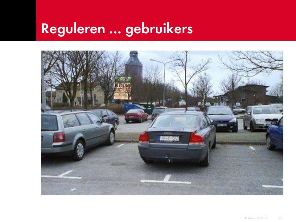 Reguleren … gebruikers