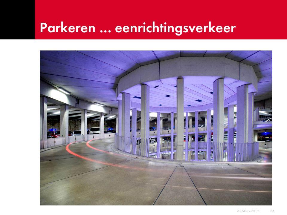 Parkeren … eenrichtingsverkeer