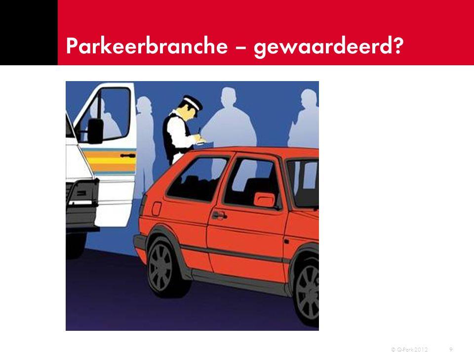 Parkeerbranche – gewaardeerd